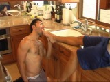 LATINO FEET gay trampling domination
