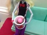 Моё кафе для кукол монстр хай
