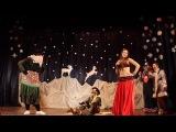 Танец живота от бабы яги :)